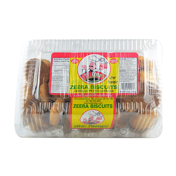 Indian grocery online - A One Zeera Biscuits 2.5lb - Cartly