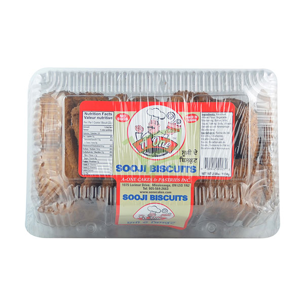 Indian grocery online - A One Sooji Biscuits 2.5lb - Cartly