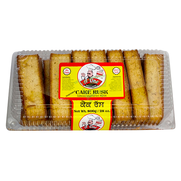 Indian grocery online - A One Cake Rusk 800G - Cartly