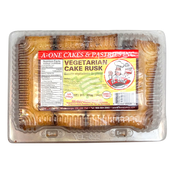 Indian grocery online - A One Cake Rusk 400G - Cartly