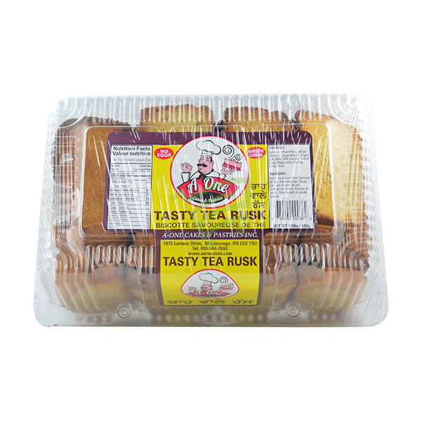 Indian grocery online - A One Tasty Tea Rusk 1.5lb - Cartly