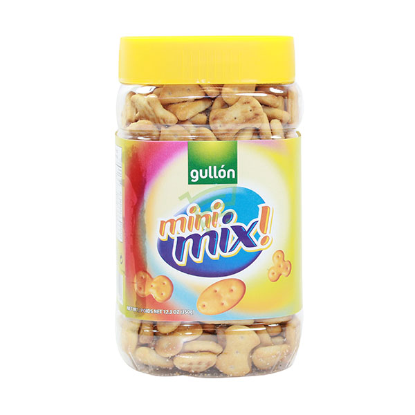 Indian grocery online - Gullon Mini Mix Biscuits 350G - Cartly