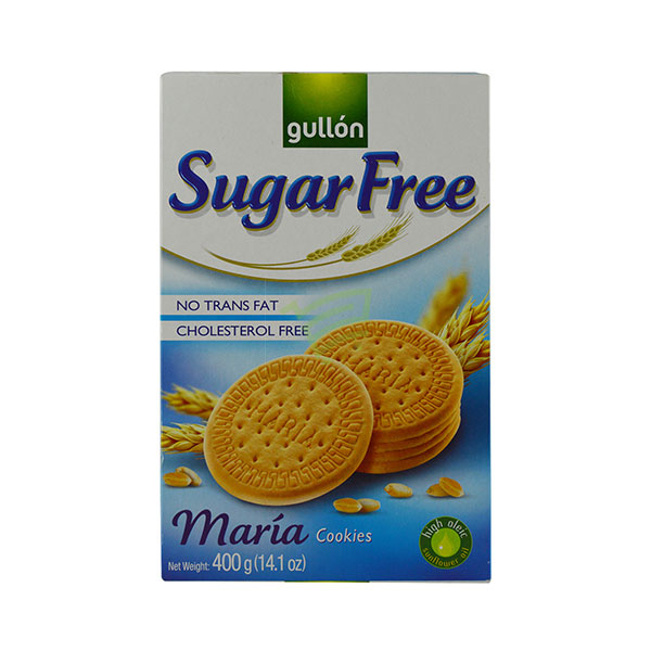 Indian grocery online - Gullon Sugar Free Maria Cookies 400G - Cartly