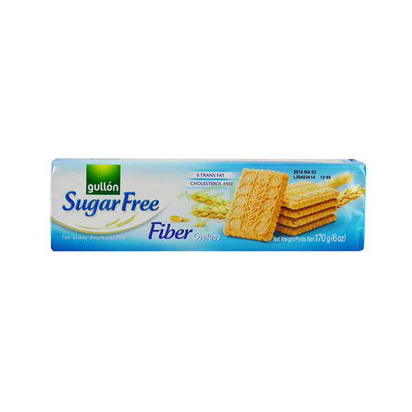 Indian grocery online - Gullon Sugar Free Fiber Cookies 170G - Cartly