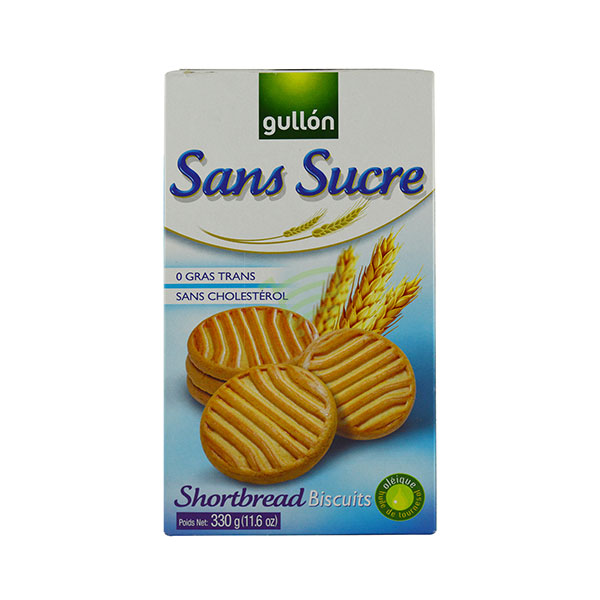 Indian grocery online - Gullon Shortbread Biscuits 330G - Cartly