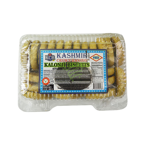 Indian grocery online - KCB Kalonji Biscuits 369G - Cartly