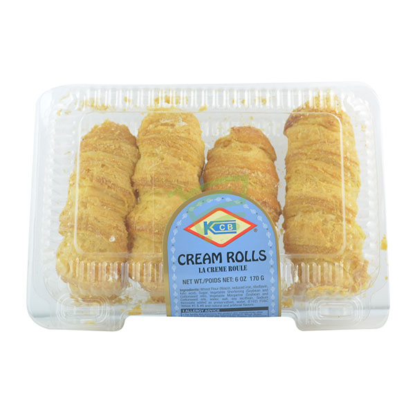 Indian grocery online - KCB Cream Rolls 170G - Cartly
