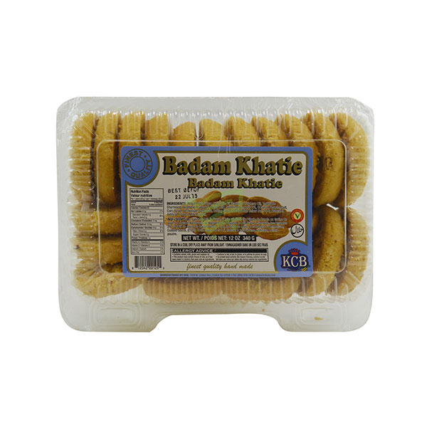 Indian grocery online - KCB Badam Khatie Biscuits 340G - Cartly
