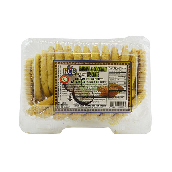 Indian grocery online - KCB Badam & Coconut Biscuits 400G - Cartly