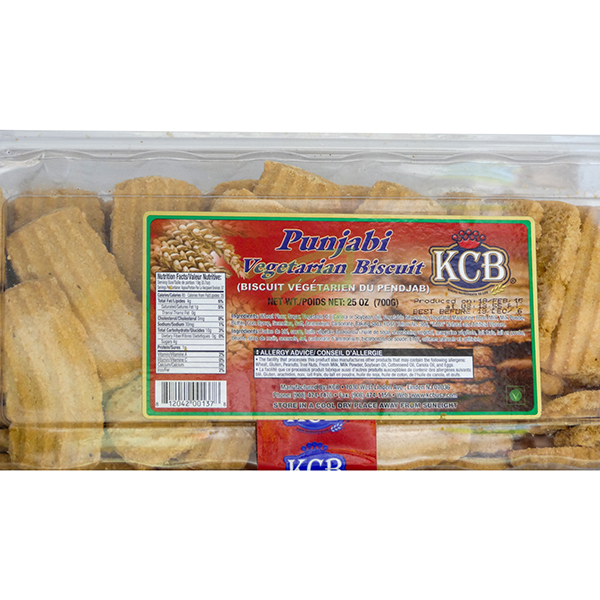 Indian grocery online - KCB Punjabi Biscuits 700G - Cartly