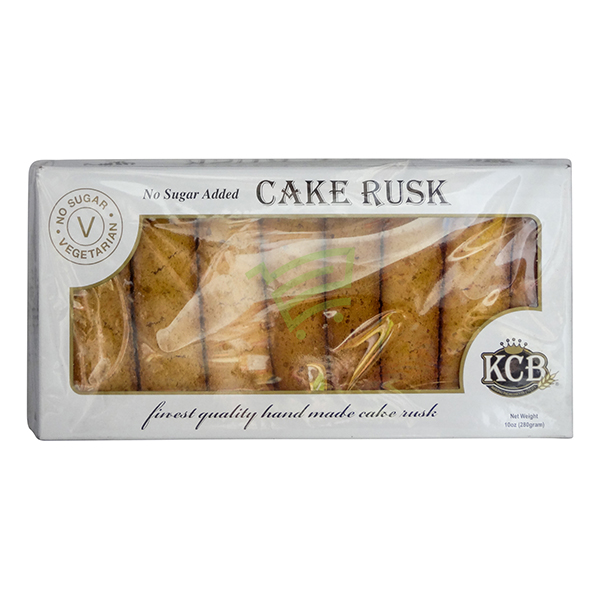 Indian grocery online - KCB No Sugar Cake Rusk 280G - Cartly