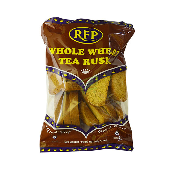 Indian grocery online - RFP Whole Wheat Tea Rusk 200G  - Cartly