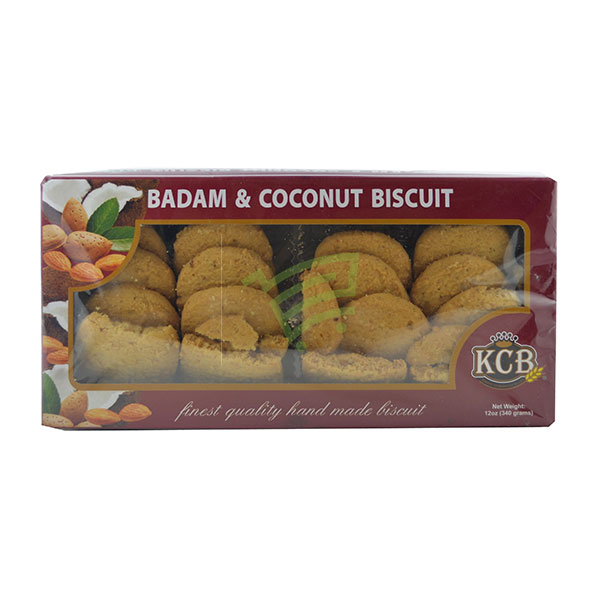 Indian grocery online - KCB Badam/Coconut Bis 340G - Cartly