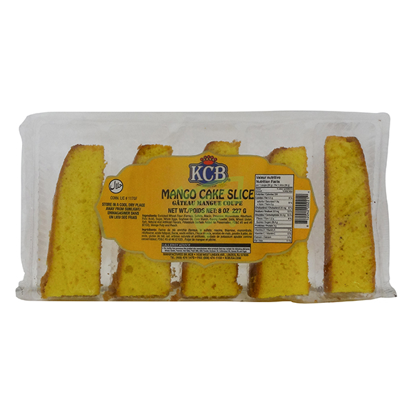 Indian grocery online - KCB Mango Cake Slice 227G - Cartly