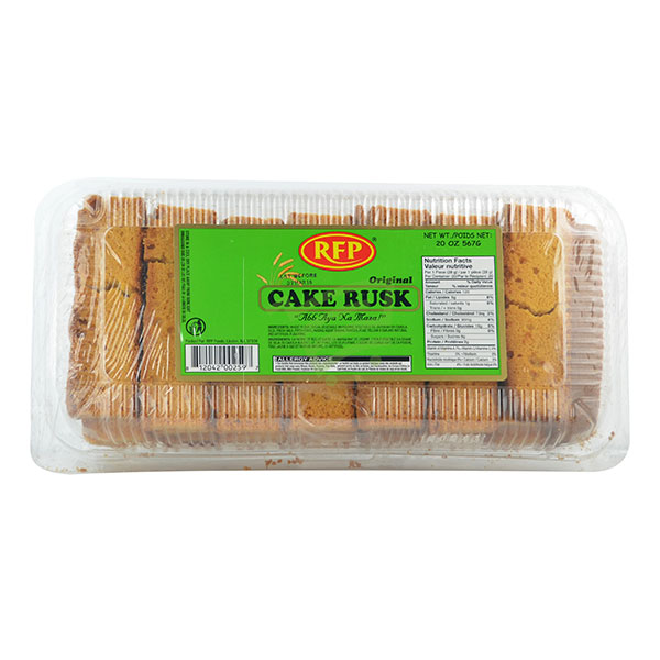 Indian grocery online - RFP Cake Rusk 620G - Cartly