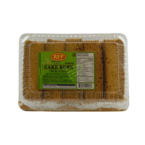 Indian grocery online - RFP Cake Rusk 283G - Cartly