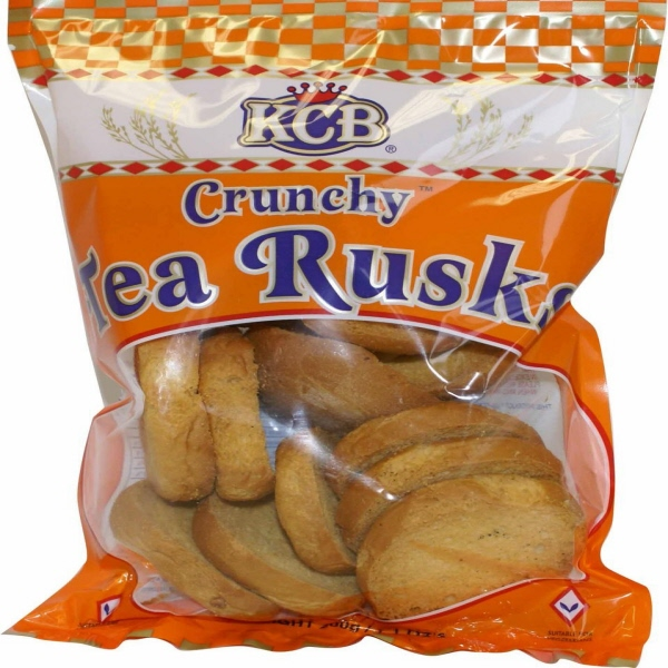 Indian grocery online - KCB whole Wheat Tea Rusk 200g - Cartly