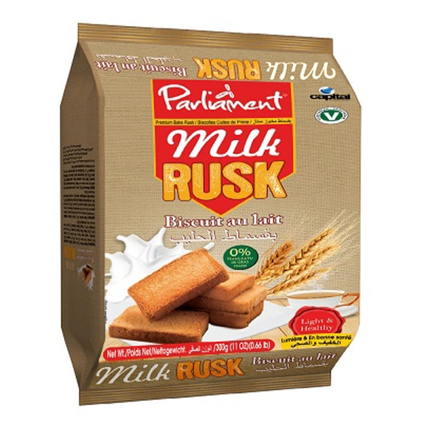 Indian grocery online - Parliament Milk Rusk 600 gms - Cartly