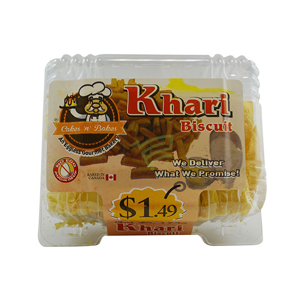 Indian grocery online - Khari Biscuits 175G  - Cartly