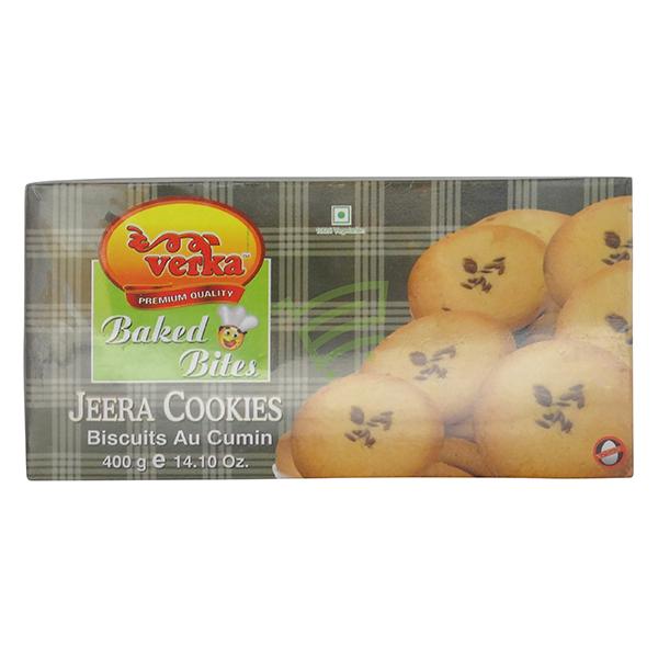 Indian grocery online - Verka Jeera Cookies 400G - Cartly