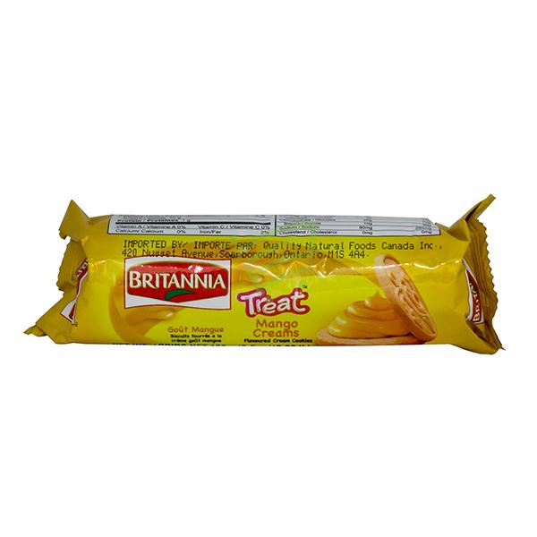 Indian grocery online - Britannia Mango Treat Cream 100G - Cartly