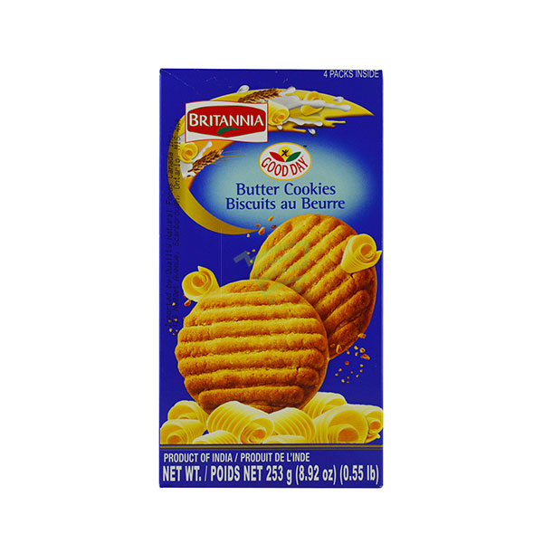 Indian grocery online - Britannia Butter Cookies Biscuits 253G  - Cartly