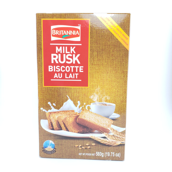 Indian grocery online - Britannia Milk Rusks 560G - Cartly