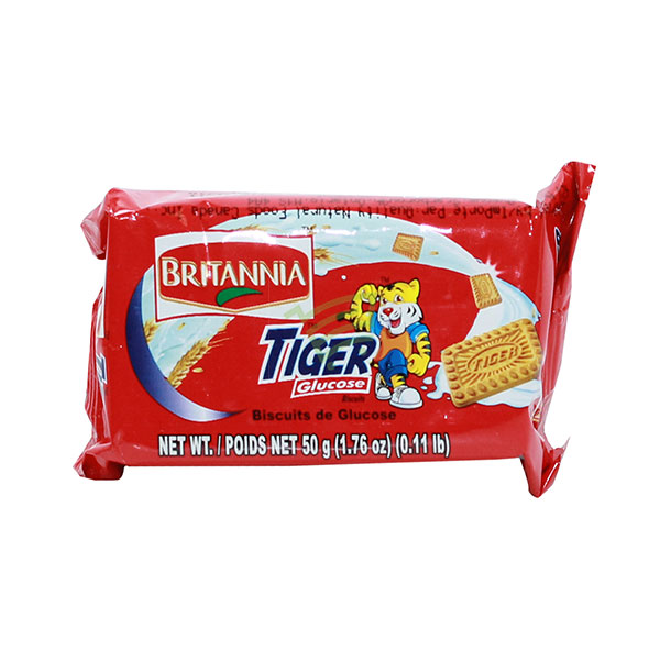 Indian grocery online - Britannia Tiger Glucose Biscuits 50G  - Cartly