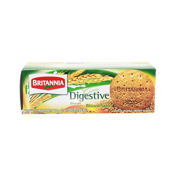 Indian grocery online - Britannia Digestive Biscuits 400G - Cartly