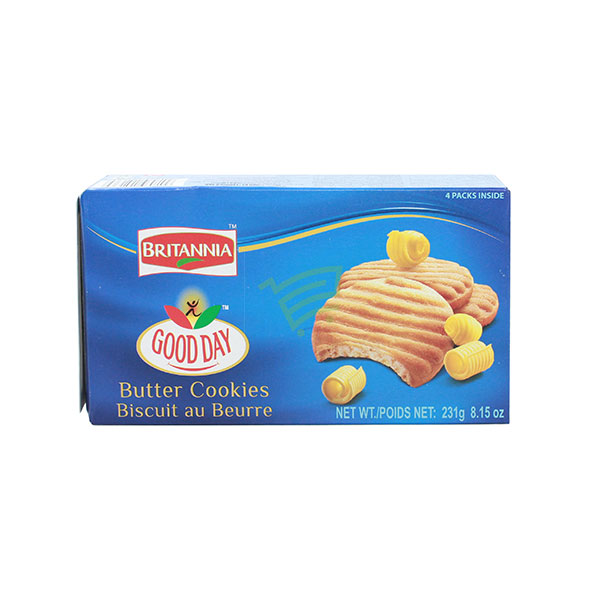 Indian grocery online - Britannia Butter Cookies 231G - Cartly