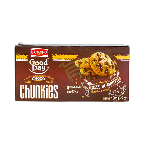 Indian grocery online - Britannia Good Day Chunkies 100G - Cartly