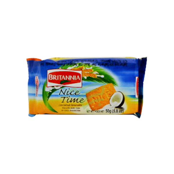 Indian grocery online - Britannia Nice Time 50g - Cartly
