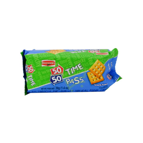 Indian grocery online - Britannia Time Pass Cracker  39g - Cartly