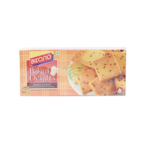 Indian grocery online - Bikano Jeera Cookies 400G - Cartly