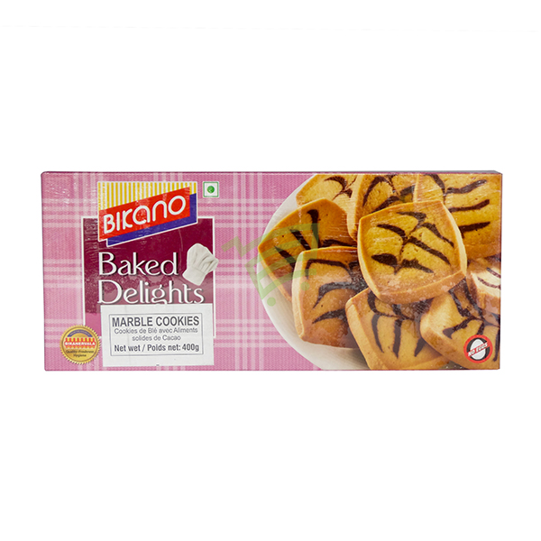 Indian grocery online - Bikano Marble Cookies 400G - Cartly