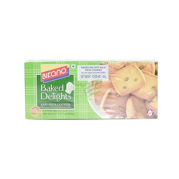 Indian grocery online - Bikano Kaju Pista Cookies 400g - Cartly