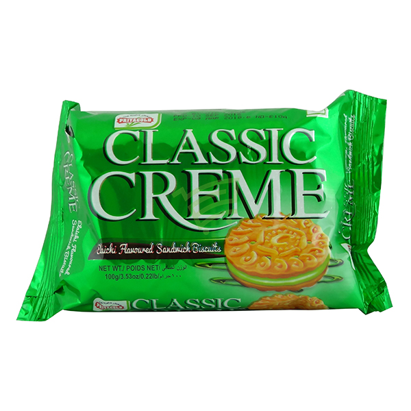 Indian grocery online - Priyagold Classic Creme Elachi Biscuits 100g - Cartly