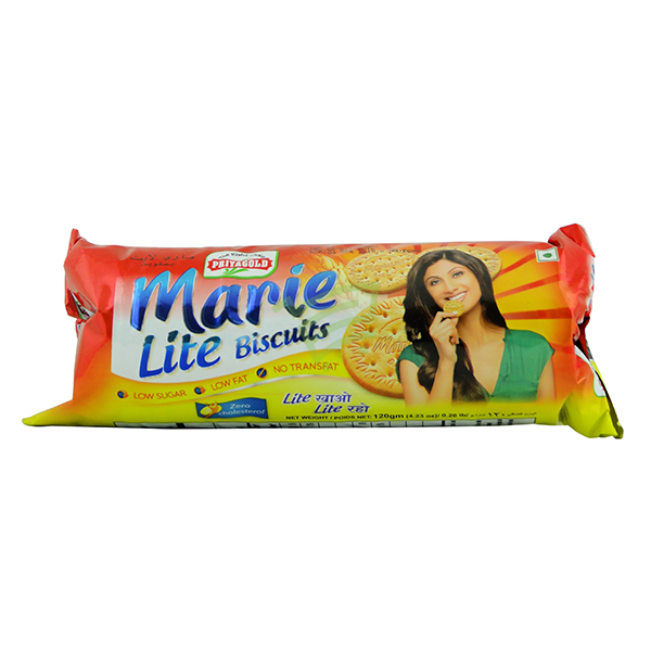 Indian grocery online - Priyagold Marie Lite 120g - Cartly