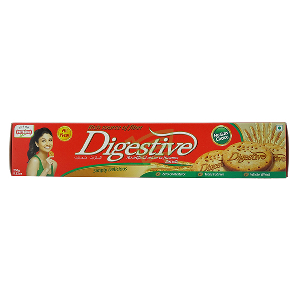 Indian grocery online - Priyagold Digestive Biscuits 250g - Cartly