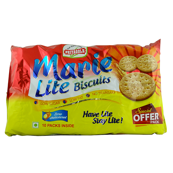 Indian grocery online - Priyagold Marie Lite Biscuits 600g - Cartly