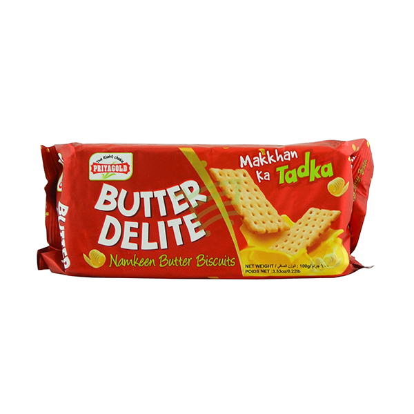 Indian grocery online - Priyagold Numkeen Butter Biscuits 100g - Cartly