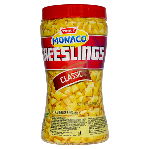 Indian grocery online - Parle Cheeslings 160G - Cartly