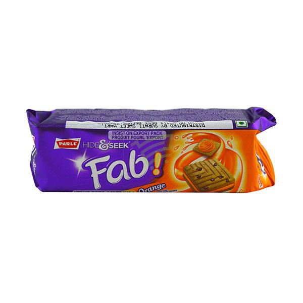 Indian grocery online - Parle Hide&Seek Orange Cream Biscuits  112G  - Cartly