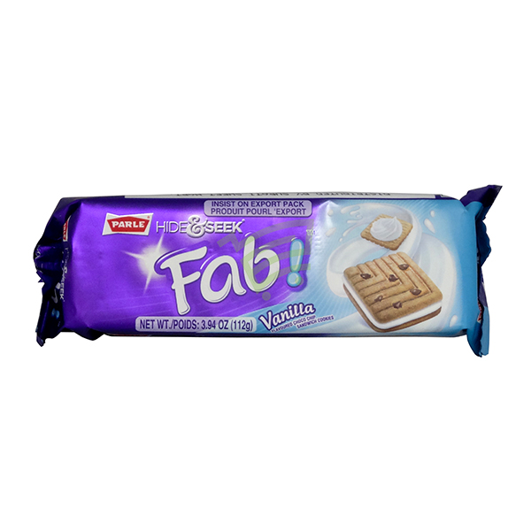 Indian grocery online - Parle Hide & Seek Fab Vanila 112G - Cartly