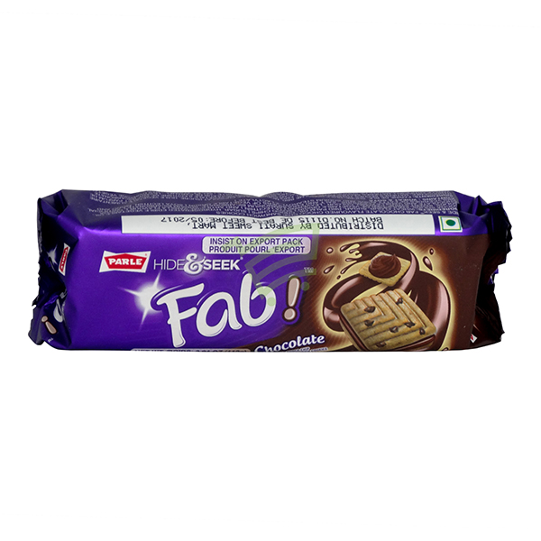 Indian grocery online - Parle Hide & Seek Fab Chocolate 112g - Cartly
