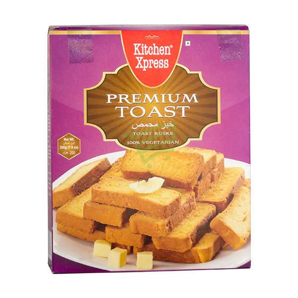 Indian grocery online - Kichen Xpress Toast Rusk 200G - Cartly