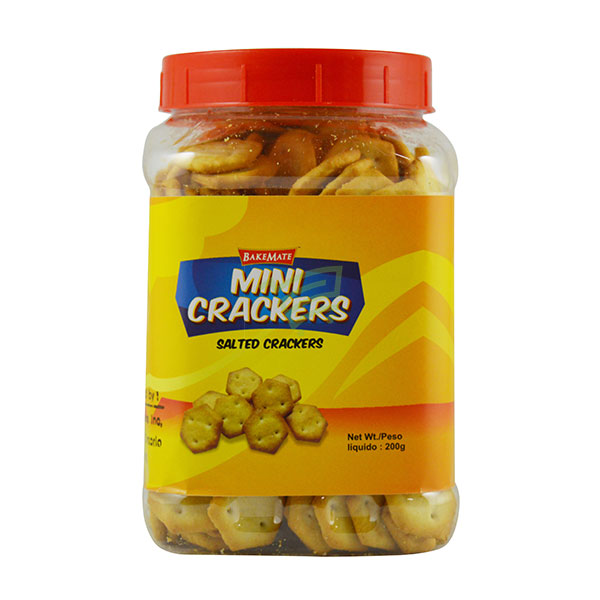 Indian grocery online - Mini Crackers Salted 200G - Cartly