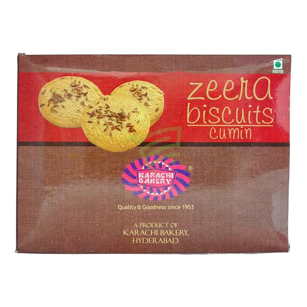 Indian grocery online - Karachi Zeera Biscuits 400G - Cartly