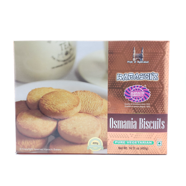 Indian grocery online - Karachi Osmania Biscuit 400g - Cartly