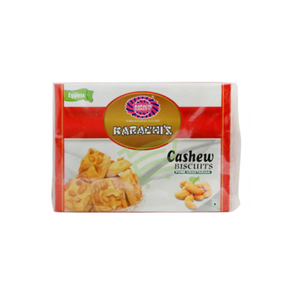 Indian grocery online - Karachi Cashew Biscuit 400G - Cartly